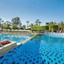 Elias Beach Hotel Pool Area Gardens